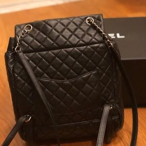 CHANEL Bags - Channel Backpack 💙🖤